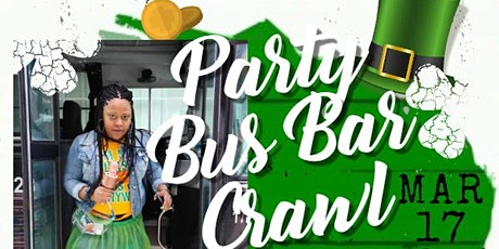 The Ultimate St. Patrick's Day Party Bus Bar Crawl tickets