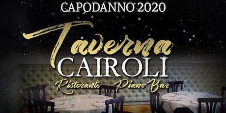 Capodanno Taverna Cairoli 2020: cena + live music - 0698875854 biglietti