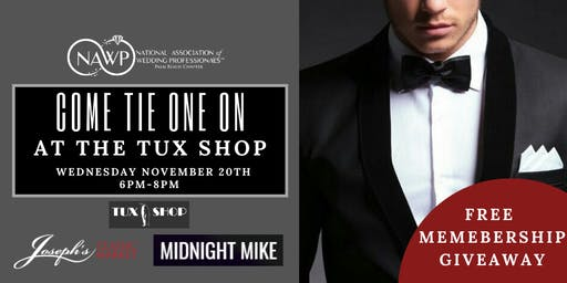 Tie One On at the Tux Shop
