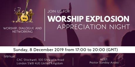 Worship Explosion Appreciation Gala tickets