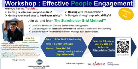 An Introduction to The Stakeholder Grid Method-Create opportunities;elevate teams; tickets