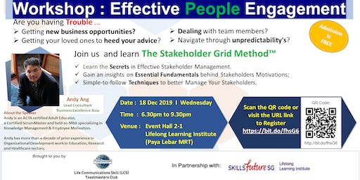 An Introduction to The Stakeholder Grid Method-Create opportunities;elevate teams;