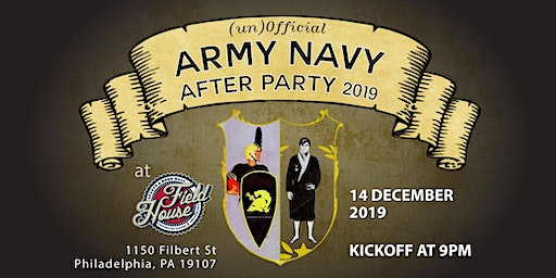 (un)Official Army Navy After Party: Hosted by DRUNK OLD GRAD