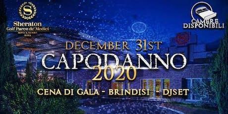 Capodanno 2020 - Sheraton Golf Rome Parco de Medici biglietti