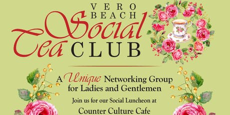 Vero Beach Social Tea Luncheon tickets