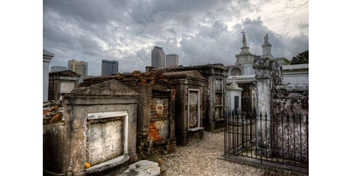 Every Tomb Tells A Story:  St. Louis Cemetery #1 Historical Tour (03-01-2020 starts at 2:30 PM)