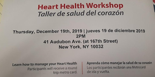 Heart Health Workshop