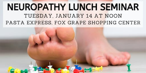 Free Neuropathy Solutions Lunch, hosted by Ozzie Smith Center - Jan. 14