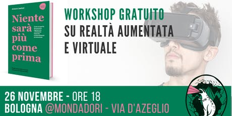 Workshop gratuito su realtà aumentata e virtuale biglietti