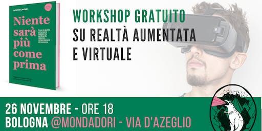 Workshop gratuito su realtà aumentata e virtuale