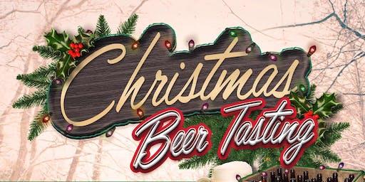 Christmas Beer Tasting