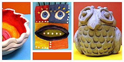 Ooey Gooey Clay Creations Weekly Class (5-12 Years)
