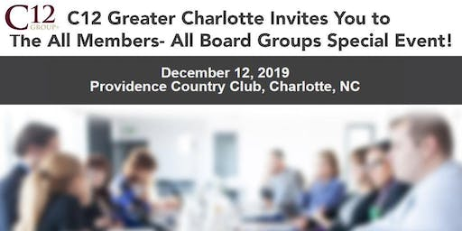 C12 Greater Charlotte All Members Board Group