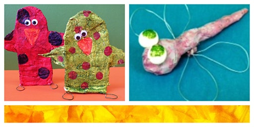 Papier Mache Day Mini-Camp (5-12 Years)