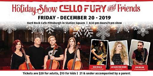 Cello Fury & Friends - Holiday Show