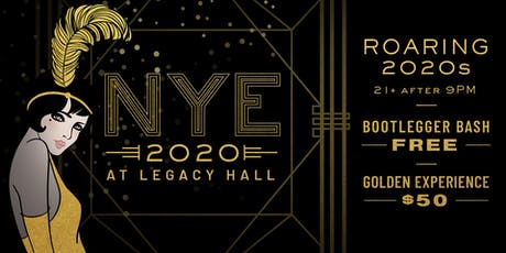 Roaring 2020s NYE at Legacy Hall tickets