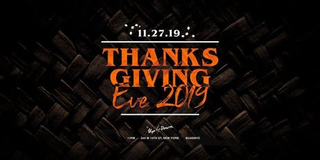 Thanksgiving Eve Party at Up & Down tickets