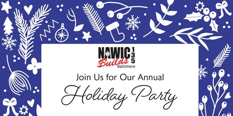NAWIC Baltimore - Holiday Party tickets