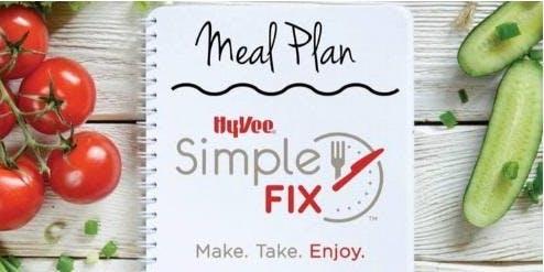 Simple Fix Meal Prepping Workshop: Low Carb Menu