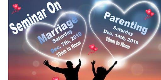 Marriage and Parenting Seminar