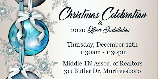 Christmas Celebration and 2020 Officer Installation