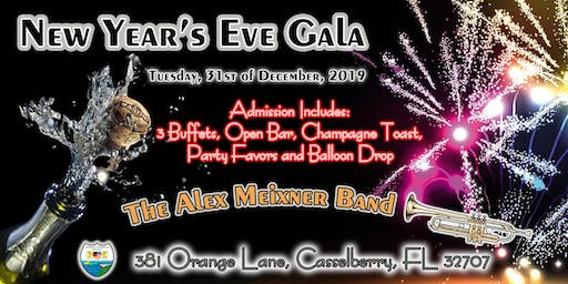 New Year's Eve Gala with Alex Meixner Band