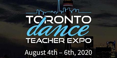 Toronto Dance Teacher Expo - 2020 tickets