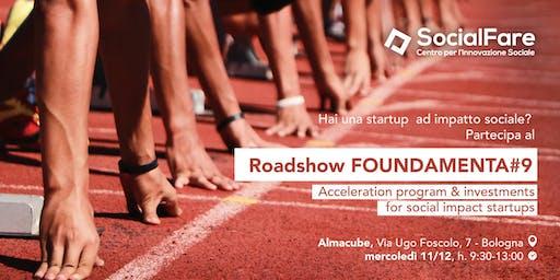 Roadshow FOUNDAMENTA#9   Call 4 Social Impact Startup