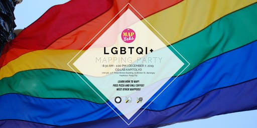MAP BEKS LGBTQI+ Mapping Party
