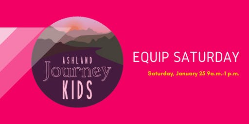 Ashland's Children's Ministry Equip Saturday!