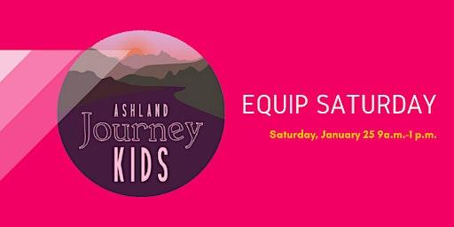 Ashland's Children's Ministry Equip Saturday!