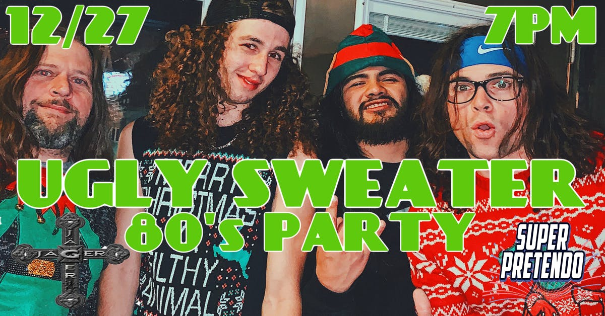 Ugly Sweater Party feat TRIXY TANG,SUPER PRETENDO,JAGER