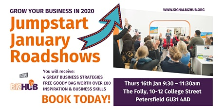 Jumpstart January - Roadshow comes to Petersfield tickets