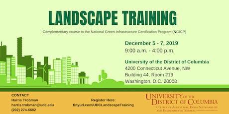 Landscape Training tickets