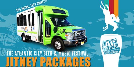 AC Beer and Music Festival - Jitney ride and ticket package.  tickets