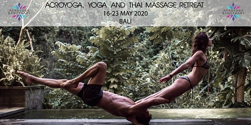 Acroyoga, Yoga, Thai Massage Retreat in Bali