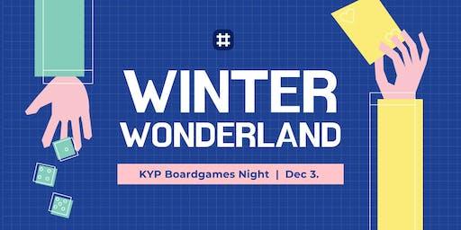 Winter Wonderland -  A KYP Board Game Night!