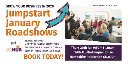 Jumpstart January - Roadshow - Bordon