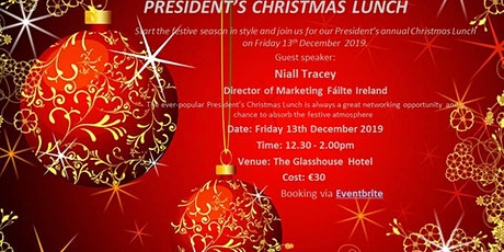 Sligo Chamber of Commerce President's Christmas Lunch tickets