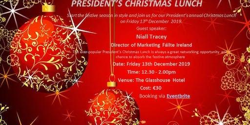 Sligo Chamber of Commerce President's Christmas Lunch