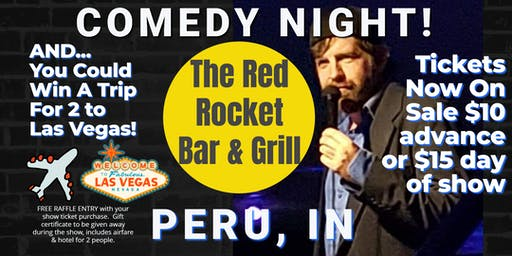 Red Rocket Bar & Grill (Peru) presents COMEDY NIGHT w/ The Mighty JerDog
