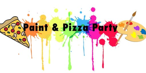 Kent County Teen Paint and Pizza Drop Off Event