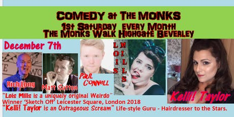 Comedy at The Monks tickets