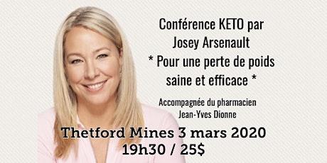 THETFORD MINES - Conférence KETO - Pour une perte de poids saine et efficace! 25$ billets
