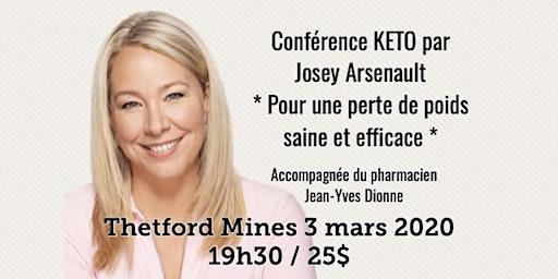 THETFORD MINES - Conférence KETO - Pour une perte de poids saine et efficace! 25$