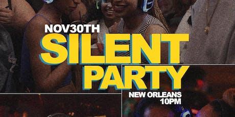Bayou Classic Silent Party w/ DJ BAM  tickets