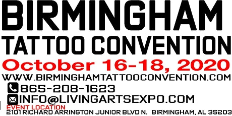 Birmingham Tattoo Convention tickets