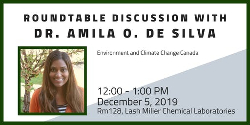 Roundtable with Dr. Amila O. De Silva