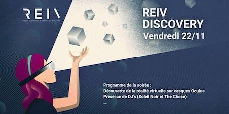 REIV Discovery billets