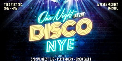 One Night At The Disco NYE